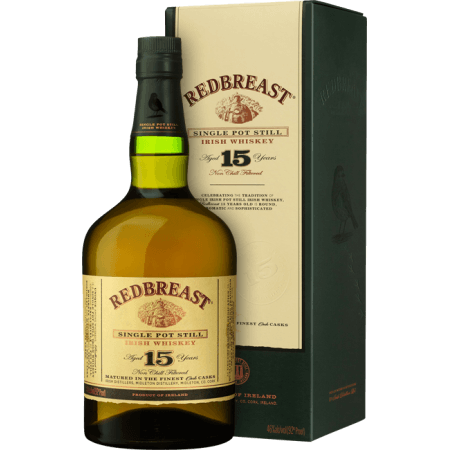 REDBREAST 15 ANS SINGLE POT STILL - EN ETUI