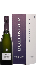 CHAMPAGNE BOLLINGER - LA GRANDE ANNEE ROSE 2007 - EN COFFRET