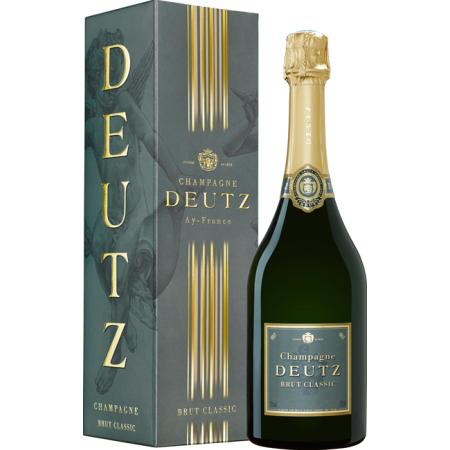 CHAMPAGNE DEUTZ - Brut classic - En étui