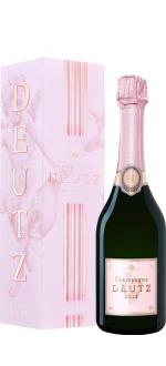 CHAMPAGNE DEUTZ - BRUT ROSE - DEMI BOUTEILLE - EN ETUI