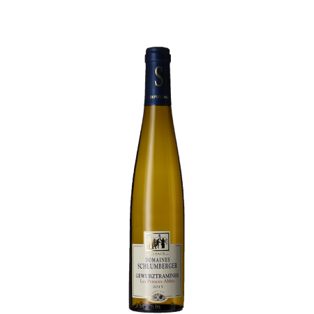 DEMI BOUTEILLE GEWURZTRAMINER 2015 - LES PRINCES ABBES - DOMAINE SCHLUMBERGER