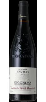 GIGONDAS - LE GRAND MONTMIRAIL 2016 - DOMAINE BRUSSET