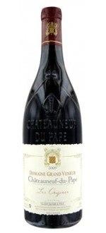 LES ORIGINES 2010 - DOMAINE GRAND VENEUR (France - Vin Rhône - Châteauneuf-du-Pape AOC - Vin Rouge - 0,75 L)
