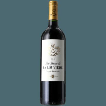 LES LIONS DE LA LOUVIERE 2015 - SECOND VIN DU CHATEAU LA LOUVIERE