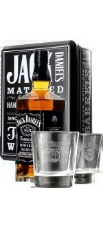 JACK DANIEL'S N°7 EN COFFRET 2 VERRES
