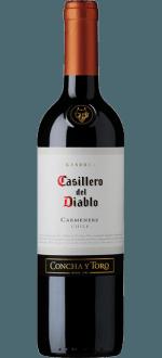 CASILLERO DEL DIABLO - CONCHA Y TORO - RESERVA CARMENERE 2017