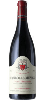 CHAMBOLLE MUSIGNY 1ER CRU LES BAUDES 2013 - DOMAINE GEANTET PANSIOT