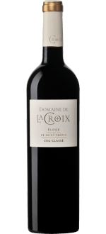 ELOGE ROUGE 2016 - DOMAINE DE LA CROIX