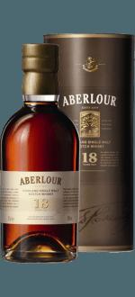 ABERLOUR 18 ANS 50 CL - EN ETUI