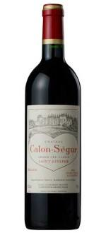 CHATEAU CALON-SEGUR 2010 - 3EME CRU CLASSE (France - Vin Bordeaux - Saint-Estèphe AOC - Vin Rouge - 0,75 L)