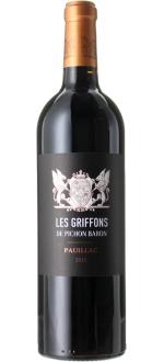 LES GRIFFONS 2015 - SECOND VIN DU CHATEAU PICHON BARON DE LONGUEVILLE