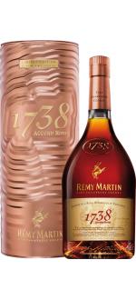 REMY MARTIN 1738 - COFFRET METAL CUIVRE