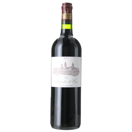 LES PAGODES DE COS 2012 - SECOND VIN DU CHATEAU COS D'ESTOURNEL