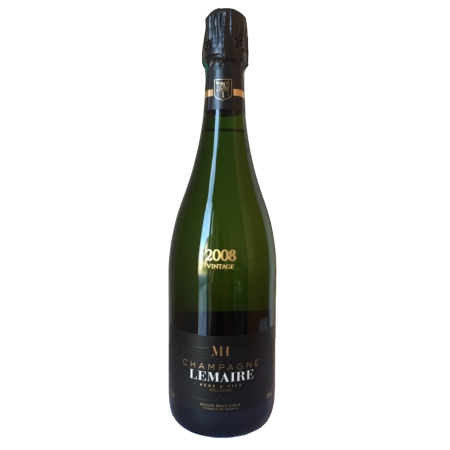 CHAMPAGNE MILLESIME BRUT 2008 - CHAMPAGNE LEMAIRE PERE ET FILS