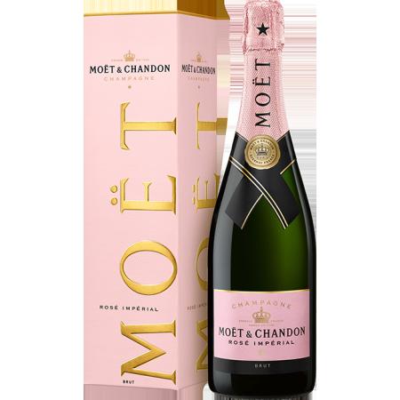CHAMPAGNE MOET & CHANDON - BRUT ROSE - EN ETUI