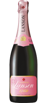 CHAMPAGNE LANSON - ROSE LABEL