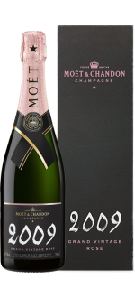 CHAMPAGNE MOET & CHANDON - GRAND VINTAGE ROSE 2009 - EN COFFRET