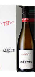 CHAMPAGNE JACQUESSON - CUVEE 737 - DEGORGEMENT TARDIF - EXTRA BRUT - EN ETUI