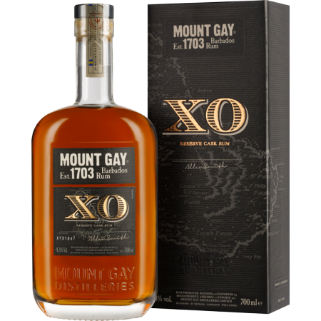RHUM MOUNT GAY XO - EN ETUI