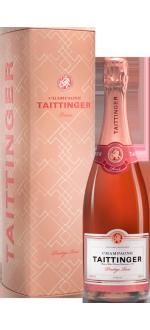CHAMPAGNE TAITTINGER BRUT PRESTIGE ROSE - EN COFFRET METAL