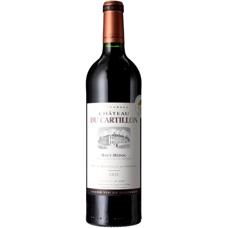 CHATEAU DU CARTILLON 2015 - CRU BOURGEOIS
