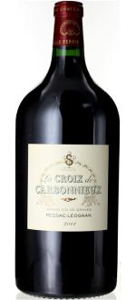DOUBLE-MAGNUM LA CROIX DE CARBONNIEUX 2014 - SECOND VIN CHATEAU CARBONNIEUX