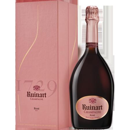 CHAMPAGNE RUINART - BRUT ROSE - COFFRET LUXE