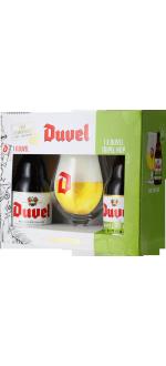 COFFRET DUVEL 2*33CL (DUVEL + TRIPEL HOP CITRA) + 1 VERRE - BRASSERIE DUVEL MOORTGAT