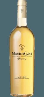 MOUTON CADET RÉSERVE SAUTERNES 2016 - BARON PHILIPPE DE ROTHSCHILD