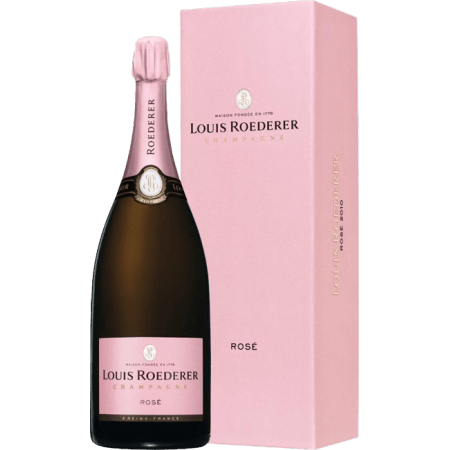 CHAMPAGNE LOUIS ROEDERER - BRUT ROSE MILLESIME 2011 - MAGNUM - COFFRET LUXE