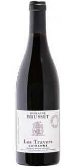 LES TRAVERS 2011 - CAIRANNE - DOMAINE BRUSSET (France - Vin Rhône - Côtes du Rhône Villages AOC - Vin Rouge - 0,75 L)