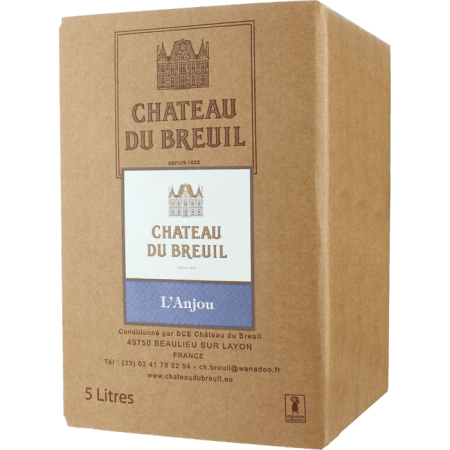 BIB - ANJOU ROUGE 2018 - CHATEAU DU BREUIL