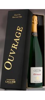 CUVEE OUVRAGE GRAND CRU - CHAMPAGNE LALLIER - EN COFFRET