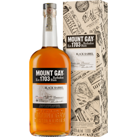 MOUNT GAY BLACK BARREL - EN ETUI
