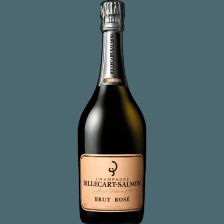 CHAMPAGNE BILLECART SALMON - BRUT ROSE - DEMI BOUTEILLE
