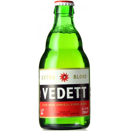 VEDETT EXTRA BLOND 33CL - BRASSERIE DUVEL MOORTGAT