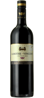 CUVEE INTENSE ROUGE 2016 - CHATEAU LAMOTHE-VINCENT