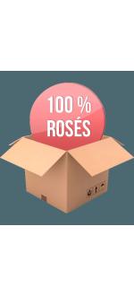 COFFRET - 100% DECOUVERTE ROSES