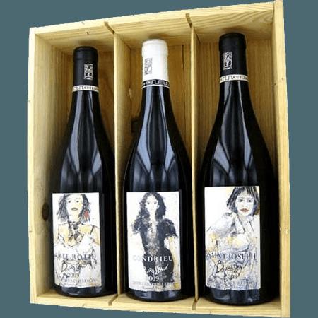 COFFRET TRIO - BOURASSEAU 2016 - YVES CUILLERON
