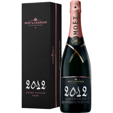 CHAMPAGNE MOET & CHANDON - GRAND VINTAGE ROSE 2012 - EN COFFRET