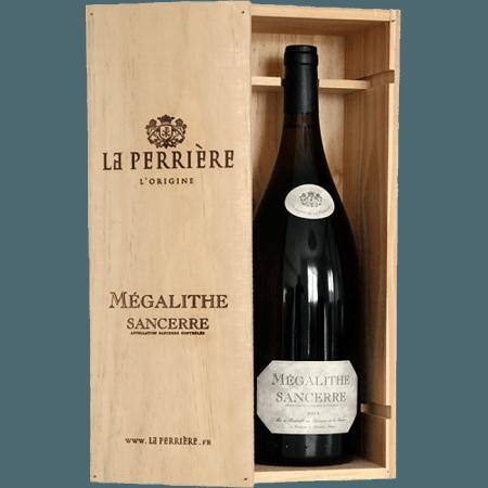 MAGNUM COFFRET BOIS SANCERRE MEGALITHE 2015 - DOMAINE DE LA PERRIÈRE