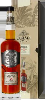 RHUM DZAMA - VIEUX RHUM 5 ANS FINITION COGNAC - EN ETUI