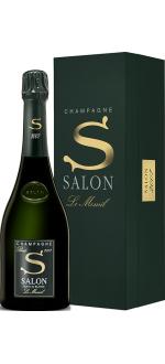 CHAMPAGNE SALON - BLANC DE BLANCS - S 2007 - LE MESNIL - COFFRET LUXE