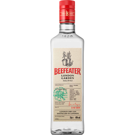 GIN BEEFEATER LONDON GARDEN