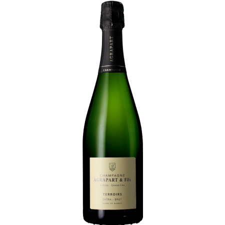CHAMPAGNE AGRAPART - EXTRA BRUT BLANC DE BLANCS GRAND CRU - TERROIRS
