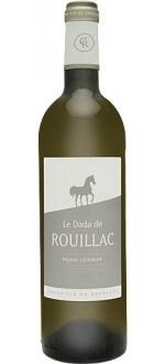 LE DADA DE ROUILLAC 2012 - SECOND VIN DU CHATEAU ROUILLAC (France - Vin Bordeaux - Pessac-Léognan AOC - Vin Blanc - 0,75 L)