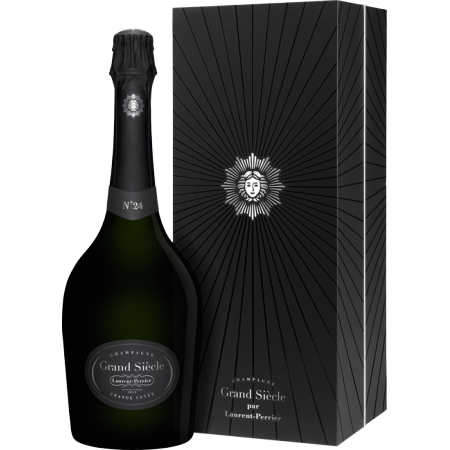 CHAMPAGNE LAURENT-PERRIER - GRAND SIECLE ITERATION N°24 - EN COFFRET LUXE