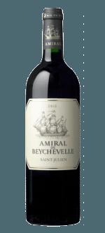 AMIRAL DE BEYCHEVELLE 2015 - SECOND VIN DU CHATEAU BEYCHEVELLE