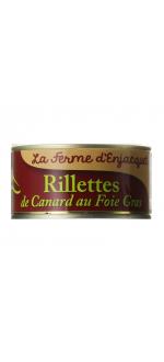 RILLETTE DE CANARD AU FOIE GRAS