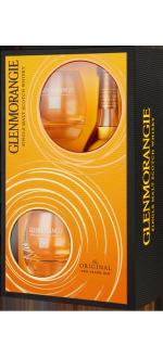 GLENMORANGIE THE ORIGINAL 10 ANS - EN COFFRET 2 VERRES